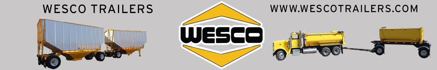 Banner for Wesco Trailers Dot Com