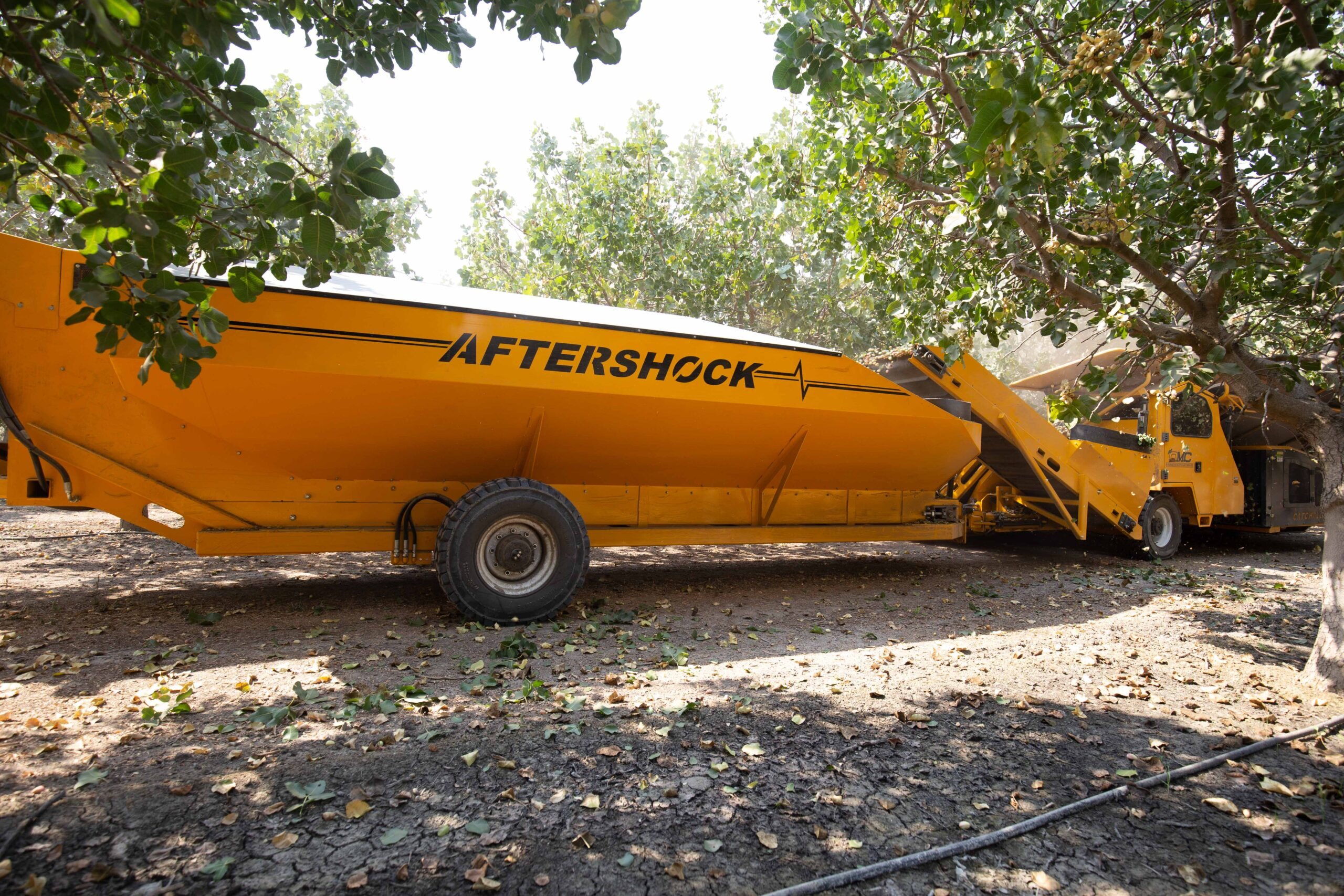 Aftershock CC525 being towed